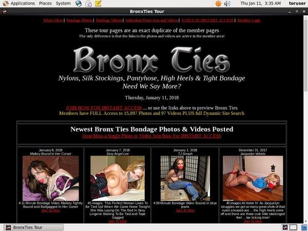 Bronxties Accounta