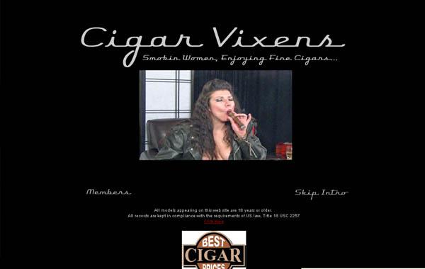 Cigarvixens.com 사다