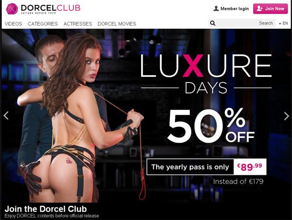 Dorcelclub Get An Account