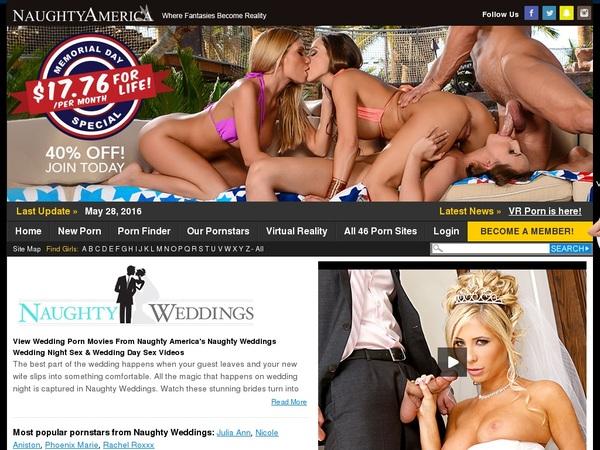 Free Naughty Weddings Account
