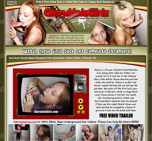 Glory Hole Girlz Pay Using
