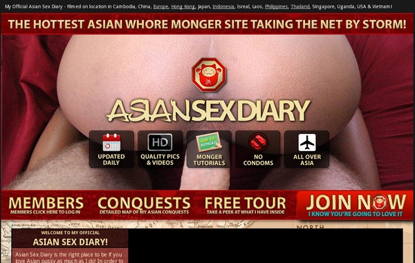 How To Get Into Asian Sex Diary Free
