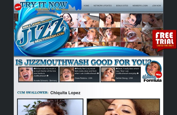 Jizzmouthwash Cams