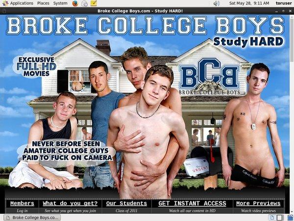 Password For Brokecollegeboys