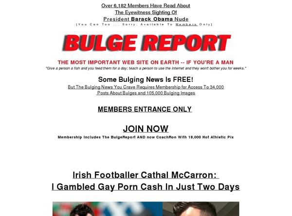 Password Free The Bulge Report