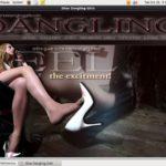 Shoe Dangling Girls Photo Gallery