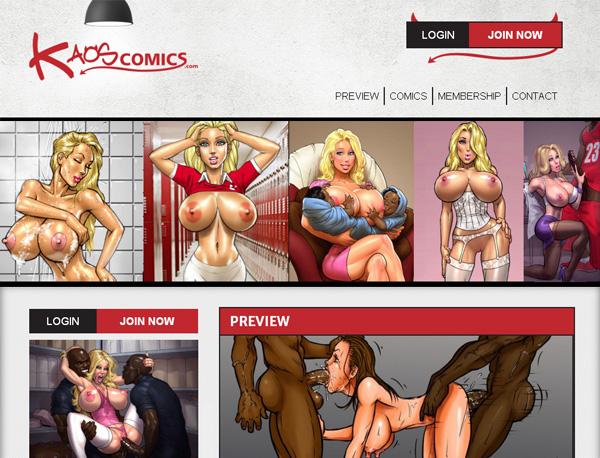 Kaos Comics Free Accounts And Passwords