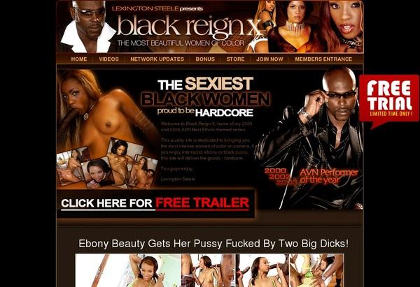 Black Reign X Become A Member