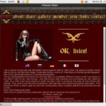 Princess Fatale Register