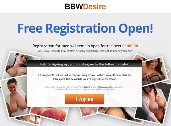 BBW Desire Membership