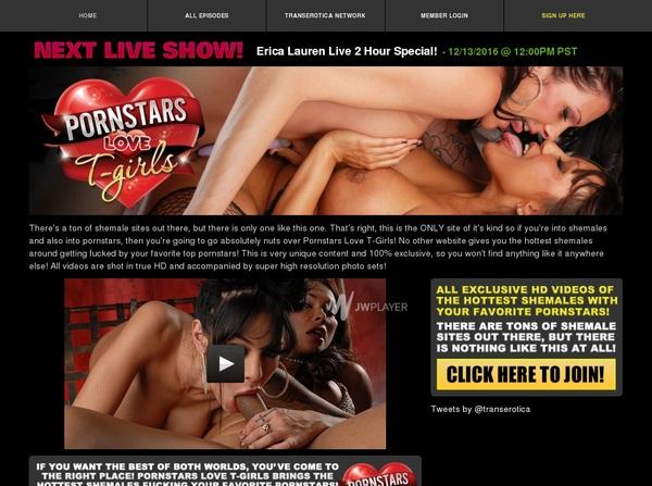 Porn Stars Love T-Girls Account Gratis