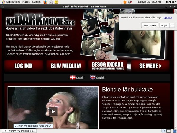 Free Xxdarkmovies.dk User