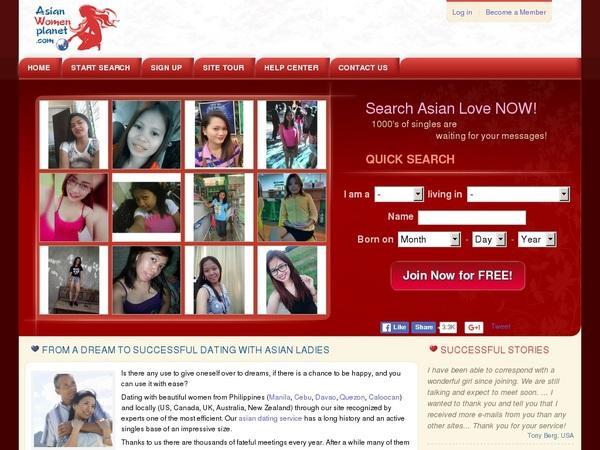 New Asian Women Planet Accounts