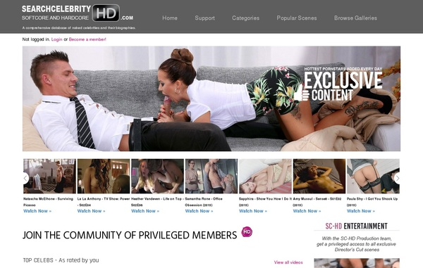 Searchcelebrityhd.com Account