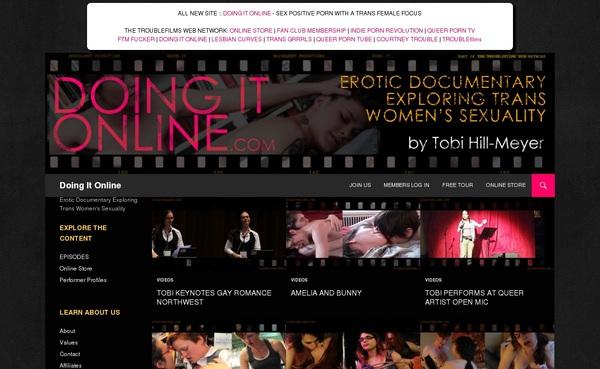 Doingitonline.com Porn Accounts