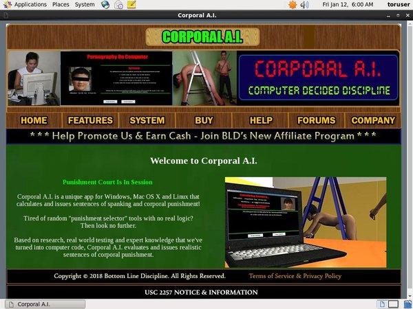 Corporal A.I. Logins Free