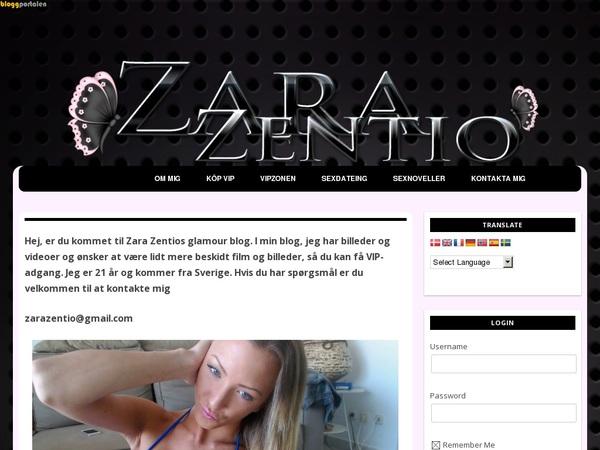 Inside Zara Zentio