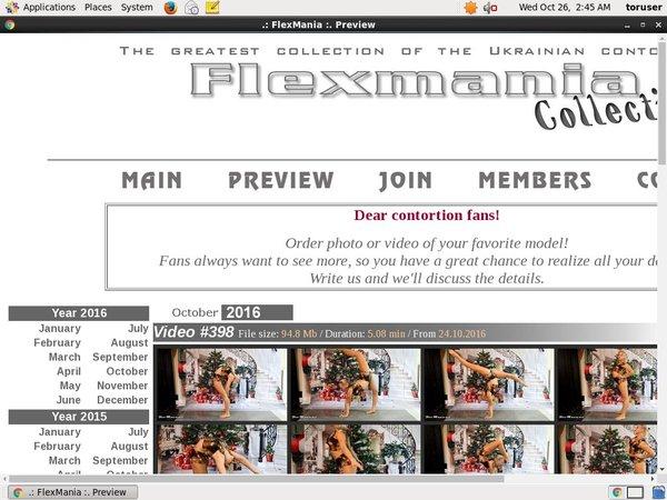 Collection Flex Mania Official