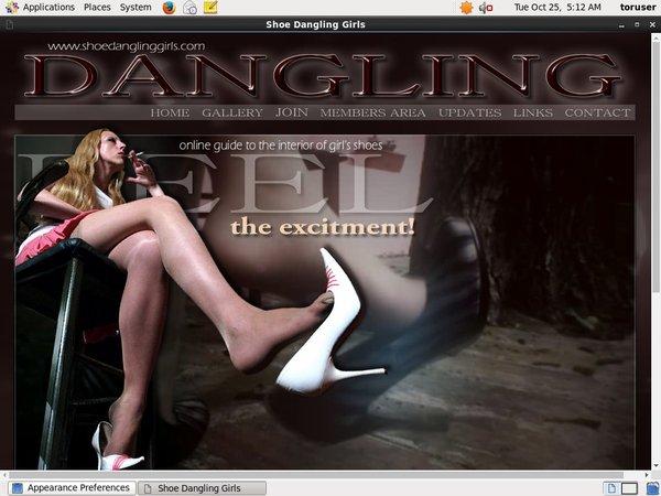 Shoe Dangling Girls Promo Deal