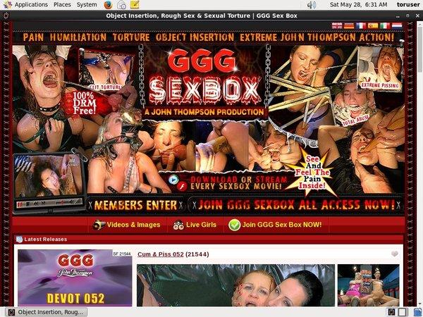Gggsexbox Free User