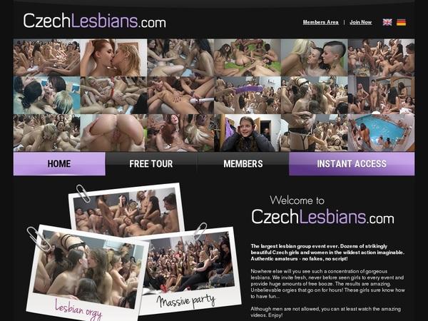Free Czech Lesbians Account Password